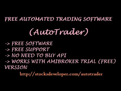 AutoTrader Installation - Automated Trading, Realtime Data & Bulk Order software