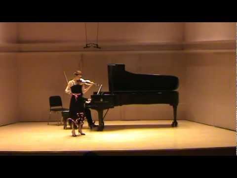 Chloe Trevor - Shostakovich Violin Concerto Mvmt. I. Nocturne