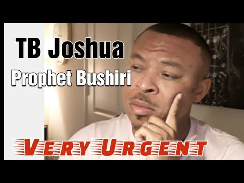 Prophet Bushiri, Prophet Tb Joshua. Exposed, HE cried. MUST WATCH.