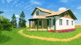 видео Строительство трехэтажных деревянных домов коттеджей из клеенного бруса под ключ цена стоимость