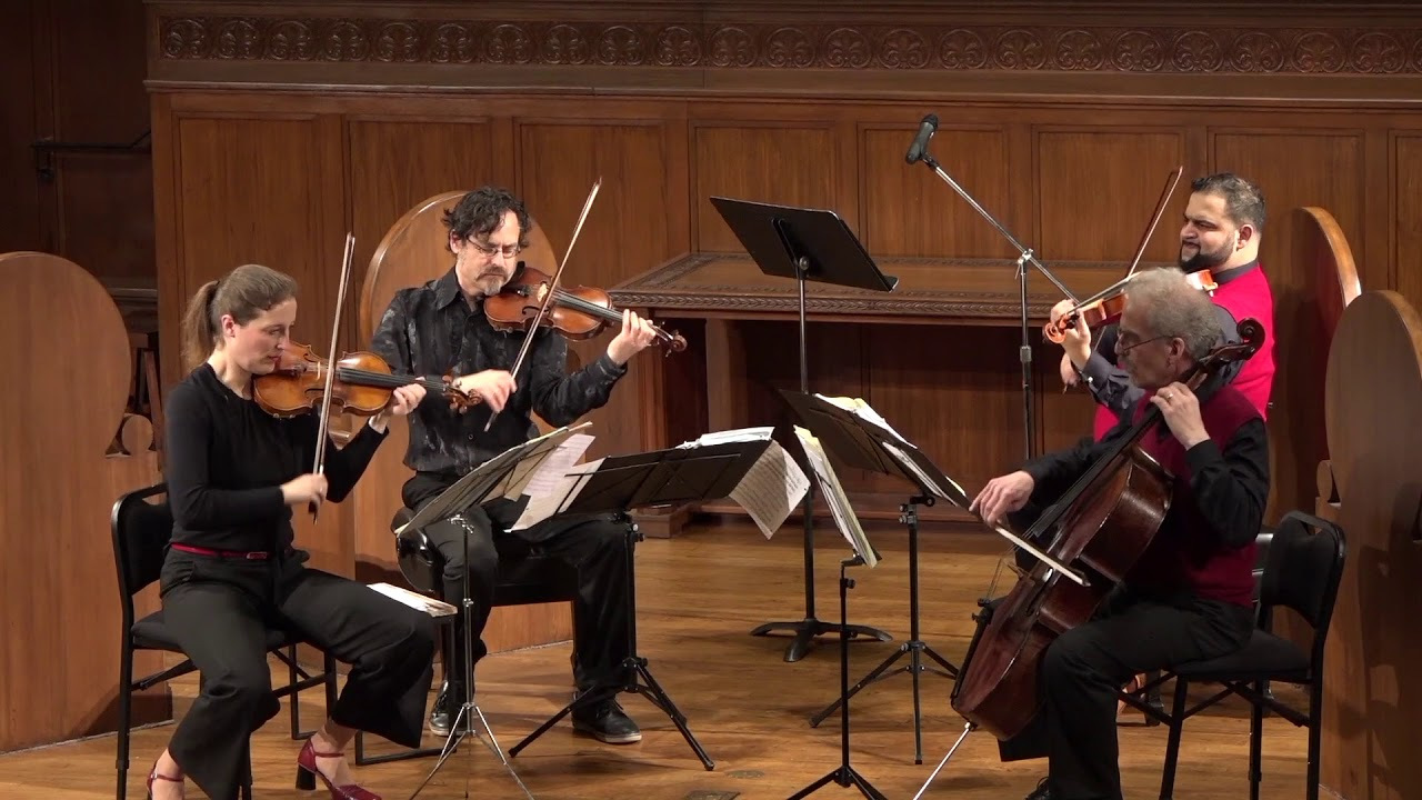 "Circadian String Quartet - Presto from ""Death and the Maiden"" by Franz Schubert"