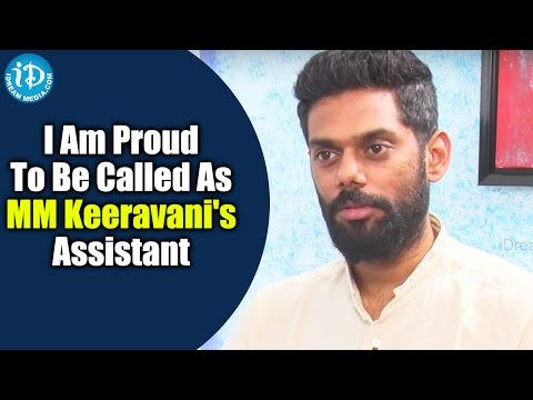 I Am Proud To Be Called As MM Keeravani's Assistant - Achu Rajamani || Talking Movies with iDream