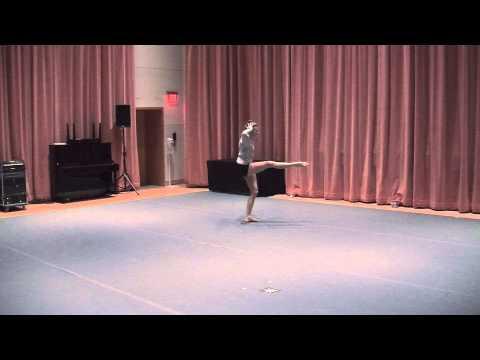 2015 Varsity Arts Top 10 Dancer Julia Harnetiaux
