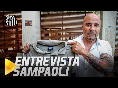 AO VIVO: SAMPAOLI NA SANTOS TV