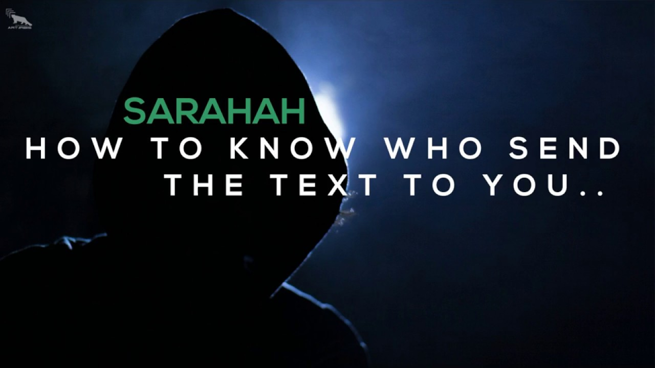 Sarahah HACK   Who is texting you on sarahah   with prove