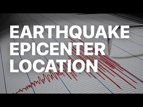 Earthquake Epicenter Triangulation