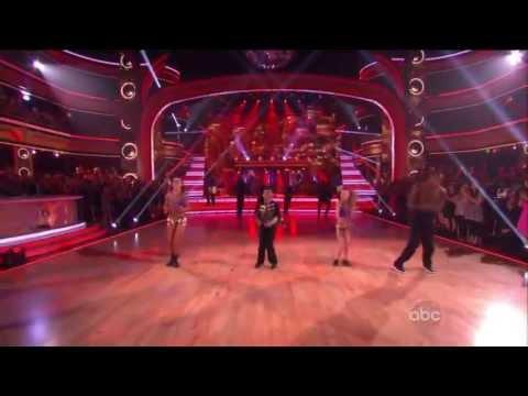Alaman & Sophia Lucia perform with Jacoby Jones & Karina Smirnoff on DWTS Season Finale