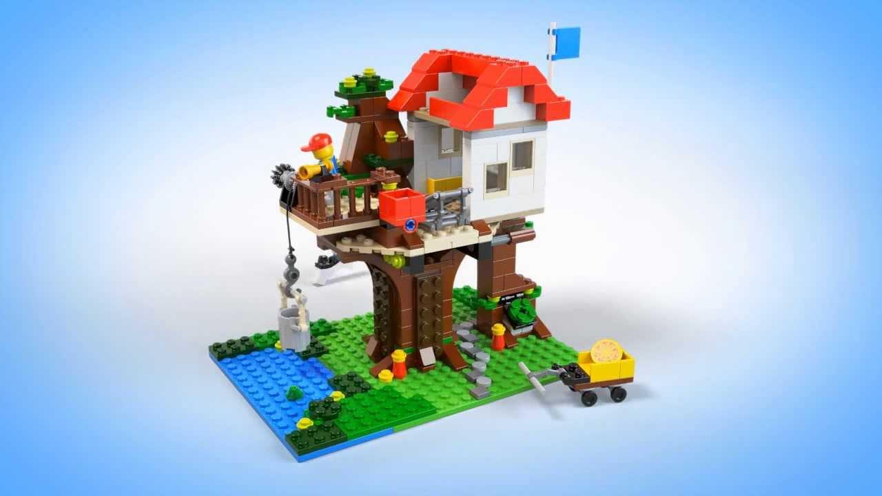 Lego creator 31010 casa en el rbol youtube - Casa en el arbol ...