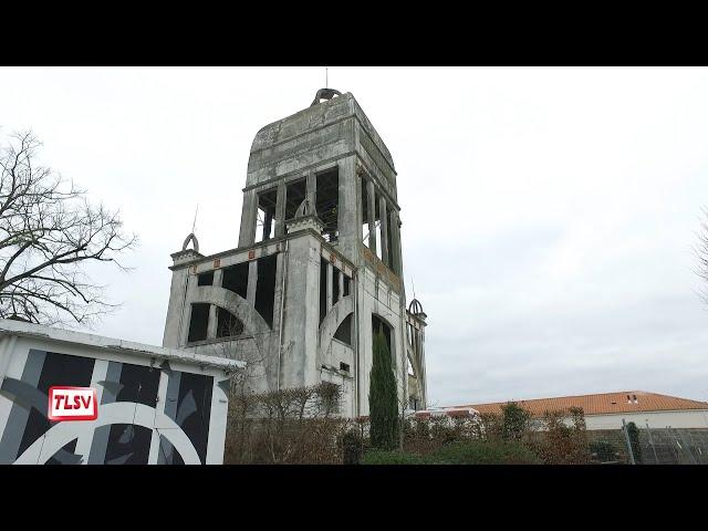 Luçon : l'ancien château d'eau mis en sécurité