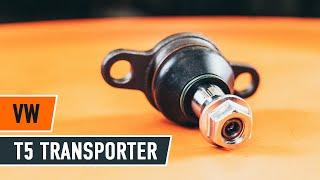 Hoe een vooraan fuseekogel vervangen op een VW T5 TRANSPORTER Van [HANDLEIDING AUTODOC]