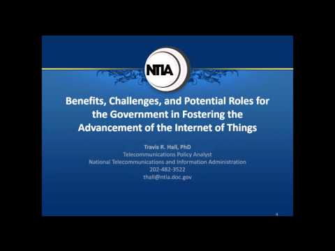 OTA IoT Update & NTIA Request for Comments on Government Role in IoT