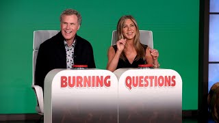 Download Will Ferrell Answers Jennifer Aniston's 'Burning Questions' Mp3 and Videos