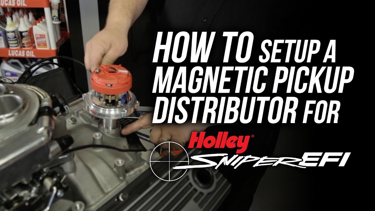 small resolution of how to setup a magnetic pick up distributor for sniper efi