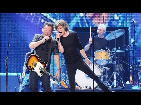 Bruce Springsteen with Rolling Stones- Tumbling Dice (PRO SHOT)