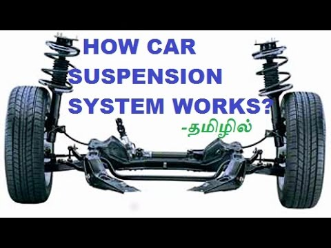 How Suspension System Works In Car? Explained In Tamil(தமிழ் )