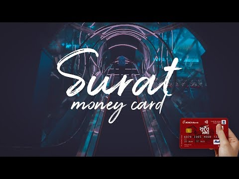Surat Money Card from Surat Municipality and ICICI Bank