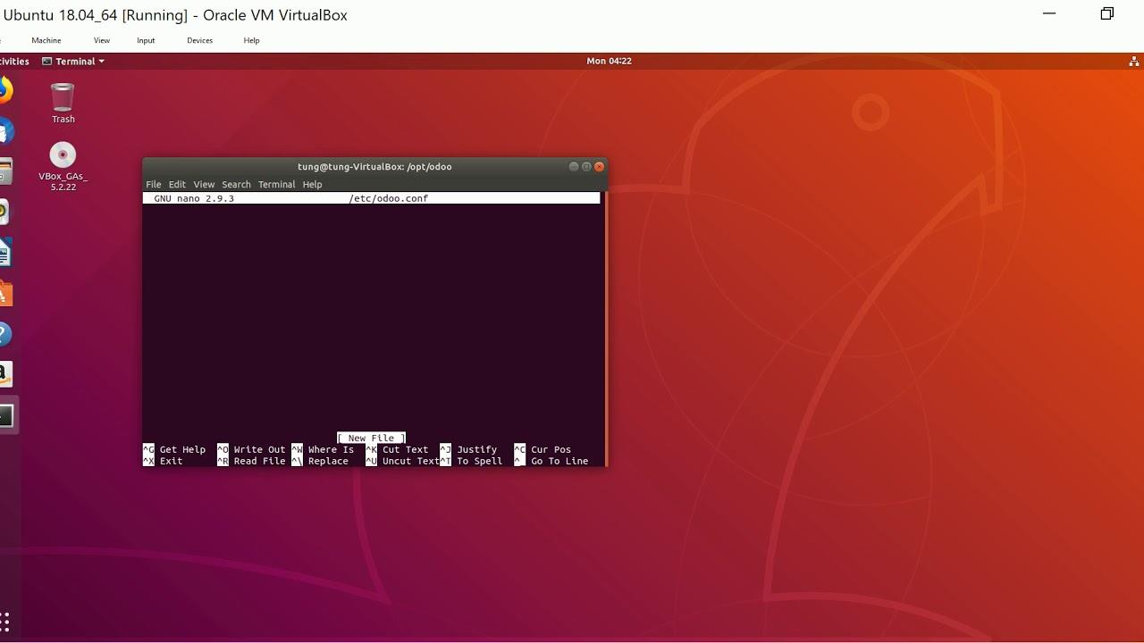 1  Install Odoo 12 on Ubuntu 18 04