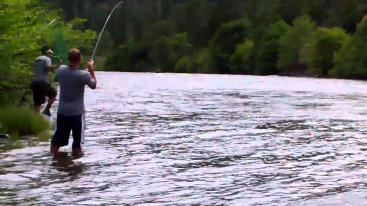 Mike 1 klickitat river fishing youtube for Klickitat river fishing report