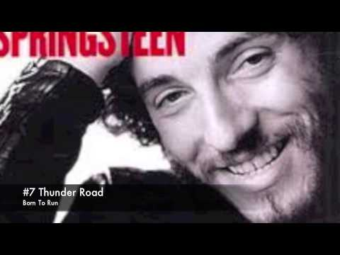 Top 20 bruce springsteen songs