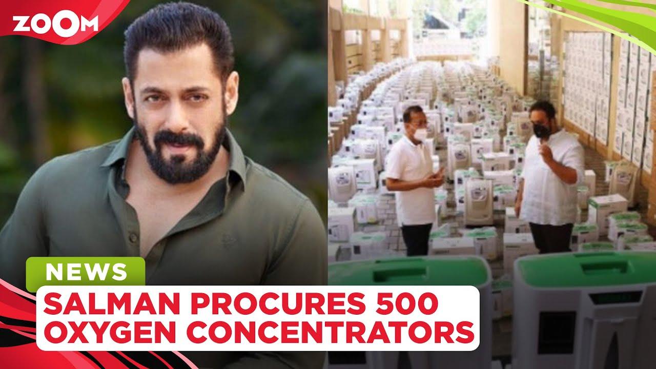 Salman Khan gets praised as he procures 500 oxygen concentrators for COVID patients