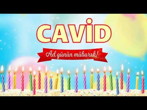 Ad günü təbriki - Cavid