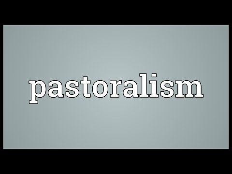 Pastoralism Meaning
