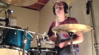 Kid Cudi (Steve Aoki Remix) - Pursuit of Happiness (Drum Cover)