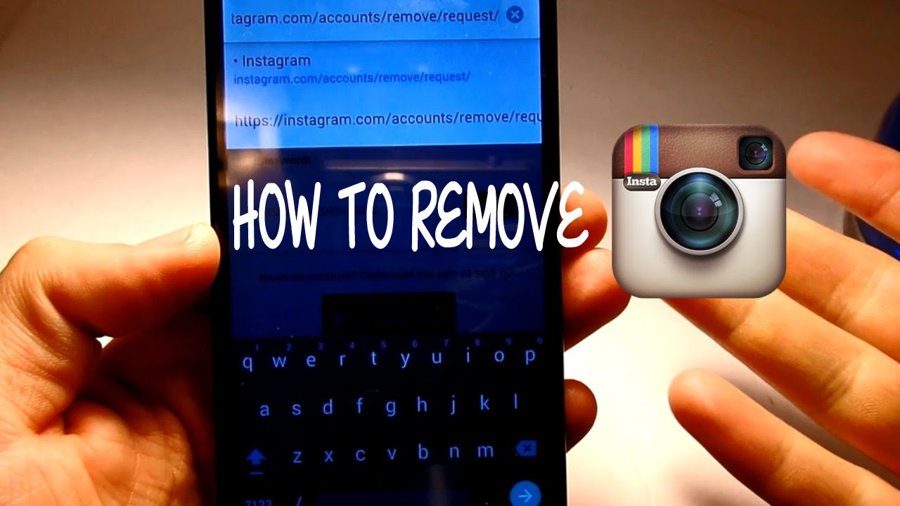 How To Delete Instagram On Any Device!!!