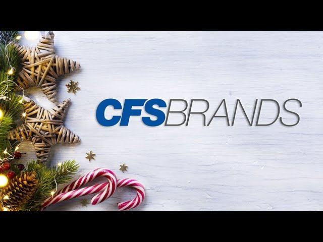 Happy Holidays from CFS Brands!