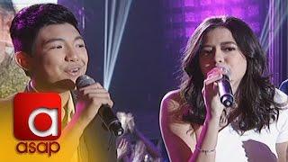 ASAP: Sue Ramirez, Darren Espanto sing