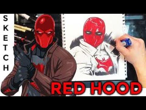 Red Hood Speed Drawing