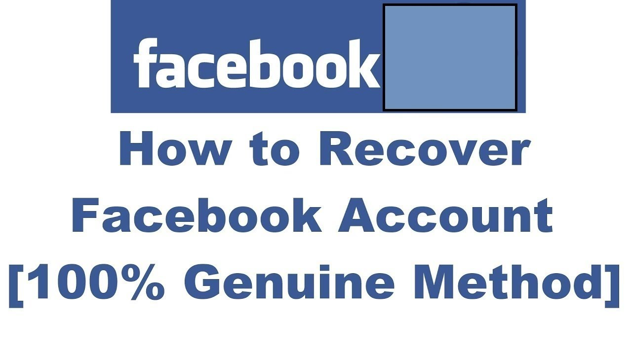 Old Facebook Recover My Account How