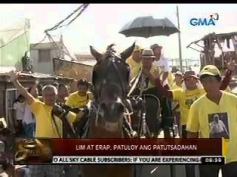 24 Oras: Lim at Erap, patuloy ang patutsadahan