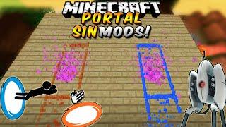 Minecraft: PORTAL GUN con un sólo bloque de Comandos SIN MODS! En Minecraft Vanilla