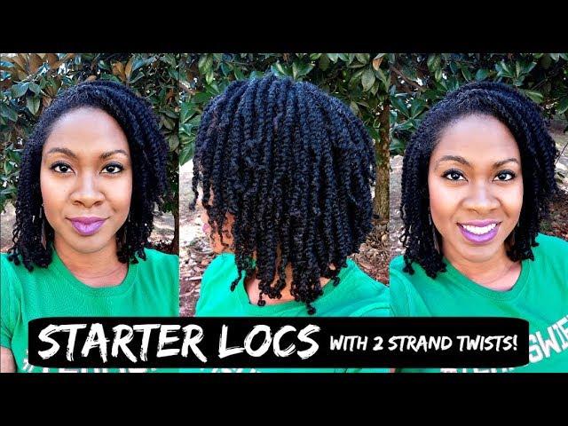 Starter Locs w/ Two Strand Twists | Naturally Michy