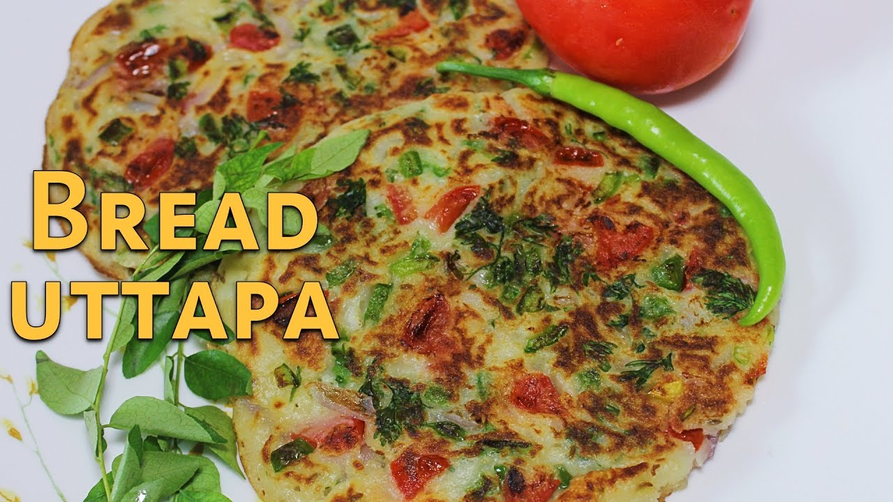 Bread uttapam south indian snack recipe quick breakfast recipe bread uttapam south indian snack recipe quick breakfast recipe kanaks kitchen forumfinder Choice Image