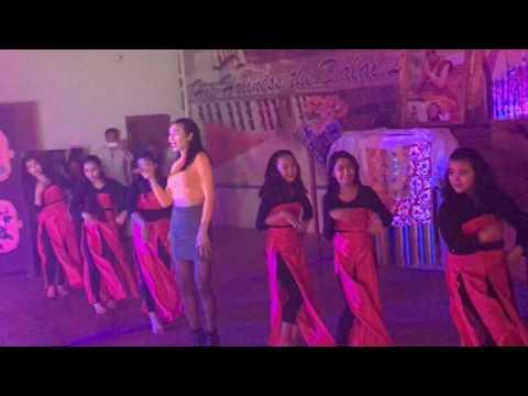 STS Camp 6, Mundgod girls dance with Mariko