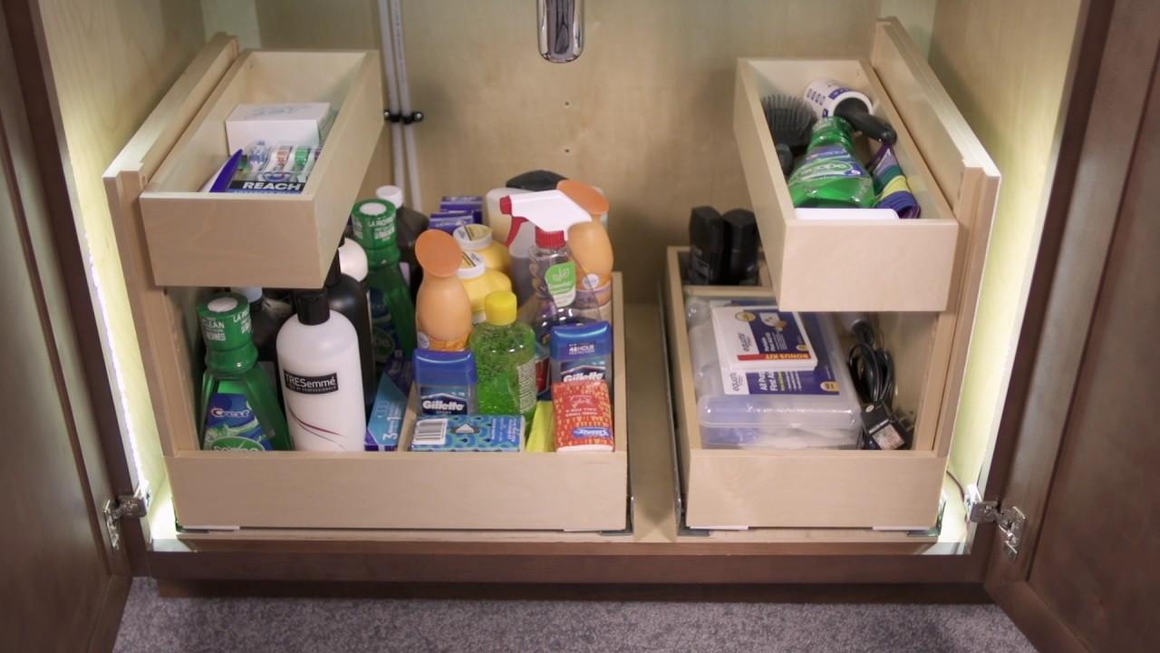 Best quiktray systme de rangement pour armoires et - Organiser ses placards de cuisine ...