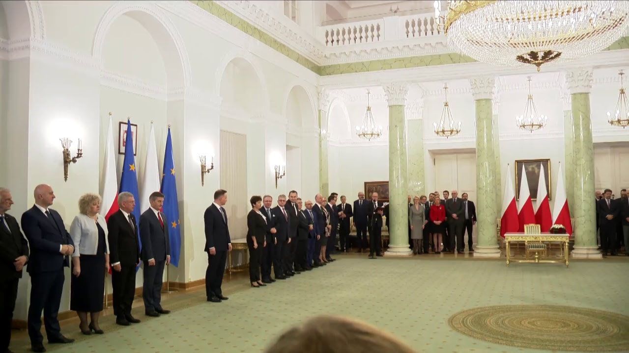 Uroczystość powołania Mateusza Morawieckiego na Prezesa Rady Ministrów