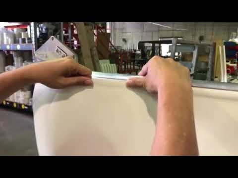 How to straighten Roller Blind fabric