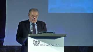 Assemblea Generale Federmeccanica 2015 -  Giorgio Squinzi