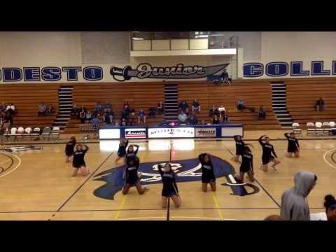 Modesto Junior College Cheer 2014 Do My Thang
