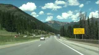 I-70 Colorado, Vail Pass