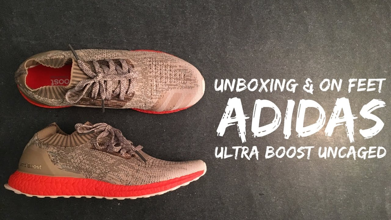 50199d34e ... order adidas ultra boost uncaged trace cargo linen khaki unboxing on  feet fashion hd youtube f73c0