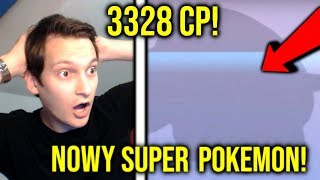 NOWY SUPER POKEMON! *SZOK* 100 IV! POWER UP NA MAX I TEST NA GYMIE! PAN WOJTEK POKEMON GO PL