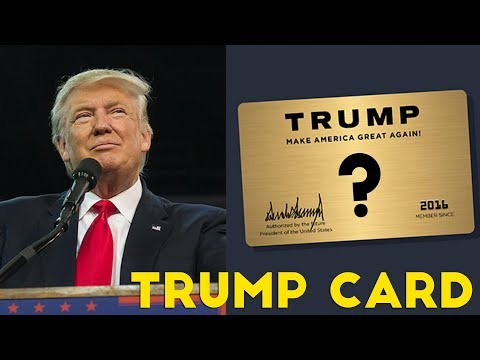 What CREDIT CARD Would DONALD TRUMP Use?