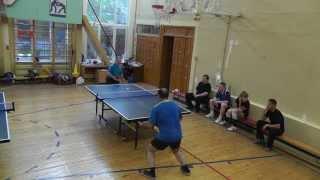 настольный теннис - шипы против гладких