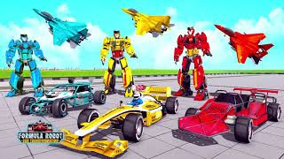 Formula Car Robot Games - Air Jet Robot Transform screenshot 3