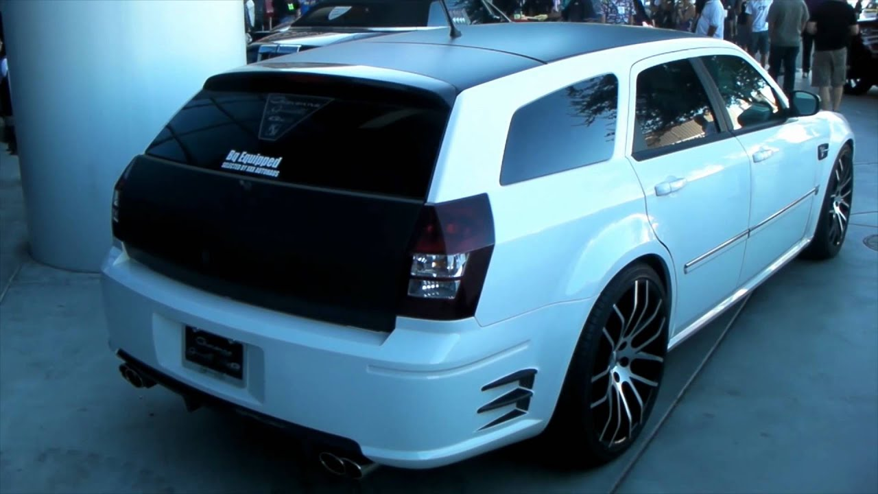 Dubsandtires 2009 Dodge Magnum Review 24 Inch Machined Giovanna Wheels Asanti Forgiato Rims You