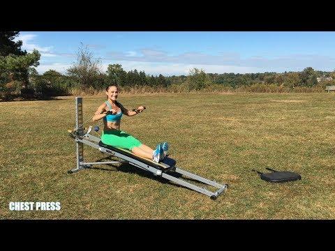 Total Gym Endurance Building Workout - Week 1